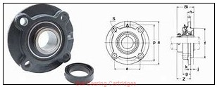 PEER FHSBR205-16 Ball Bearing Cartridges