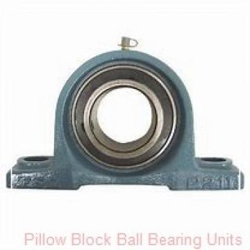 3.4375 in x 10.32 to 11.62 in x 2.56 in  Dodge P2BSCM307 Pillow Block Ball Bearing Units