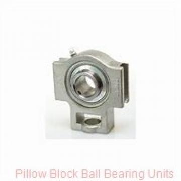2.1875 in x 6.88 to 7.94 in x 2.22 in  Dodge P2BSCM203 Pillow Block Ball Bearing Units