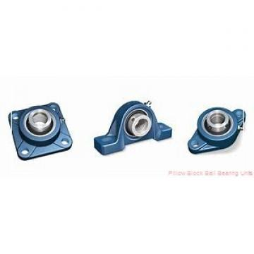 2.1875 in x 6.38 to 7.44 in x 2.22 in  Dodge P2BSC203 Pillow Block Ball Bearing Units