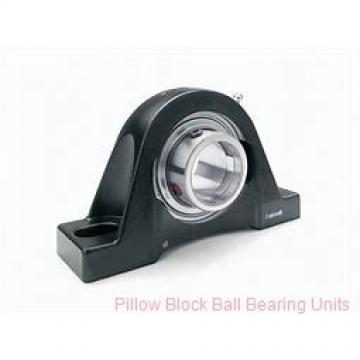 0.7500 in x 3.38 to 4.19 in x 1.23 in  Dodge P2BSC012 Pillow Block Ball Bearing Units