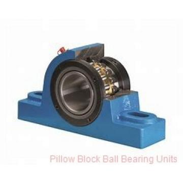 1.4375 in x 4.68 to 5.44 in x 1-11/16 in  Dodge P2BSC107 Pillow Block Ball Bearing Units