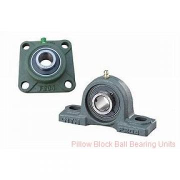 1.4375 in x 4.68 to 5.44 in x 1.53 in  Dodge P2BSXVB107 Pillow Block Ball Bearing Units