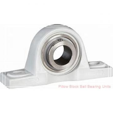 1.1250 in x 3-3/4 in x 1.41 in  Dodge P2BSLX102 Pillow Block Ball Bearing Units