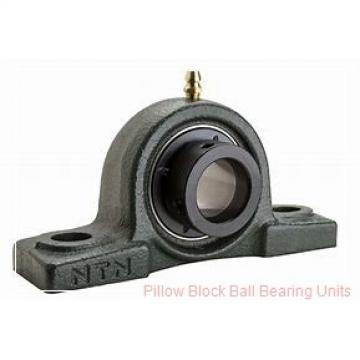 75 mm x 215.9 to 241.3 mm x 2-11/32 in  Dodge P2BSC75M Pillow Block Ball Bearing Units
