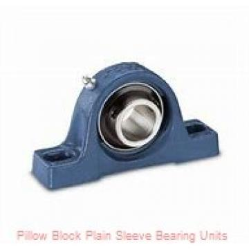 5 in x 13-1/8 to 14-3/4 in x 5 in  Dodge P4BMM7500 Pillow Block Plain Sleeve Bearing Units