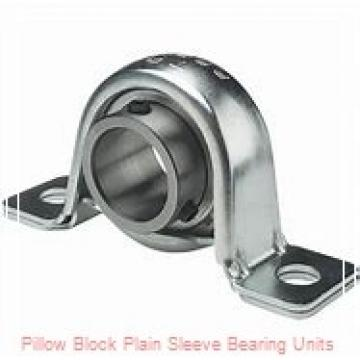 4 in x 9-7/8 to 11-1/2 in x 4 in  Dodge P2BMM7400 Pillow Block Plain Sleeve Bearing Units