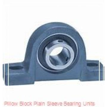 6-1/2 in x 17-3/8 to 18-5/8 in x 13 in  Dodge P4BBAR608 Pillow Block Plain Sleeve Bearing Units